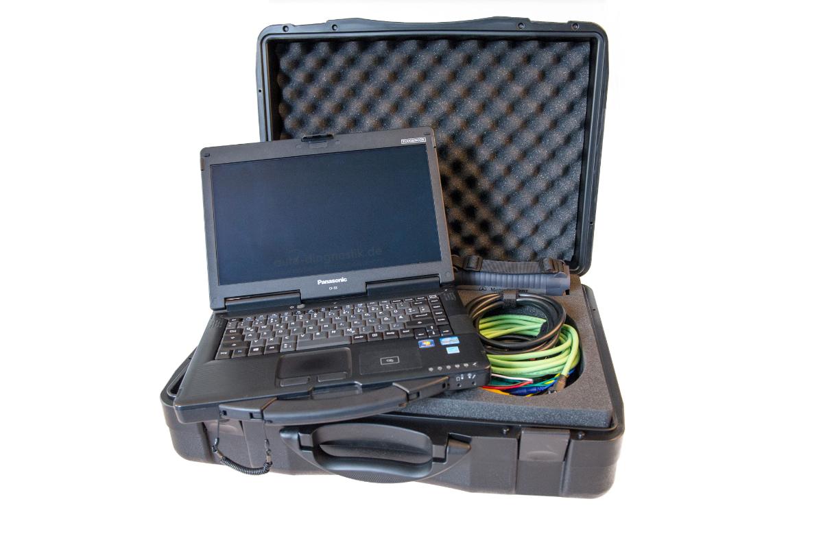 Mercedes Benz Diagnosegerät Panasonic Toughbook CF-53 bis Bj 2020
