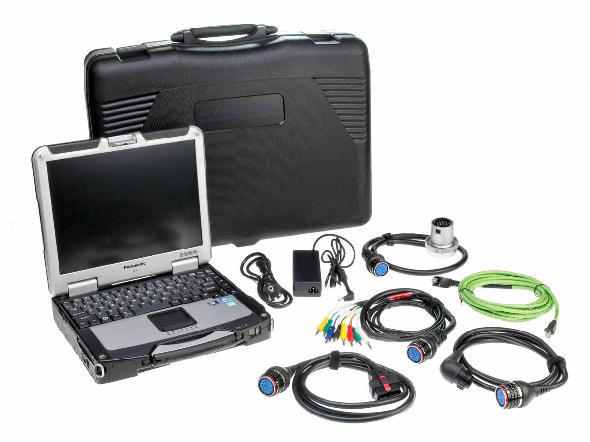 Mercedes Benz Diagnosegerät Panasonic CF-31 8GB RAM Alle MB Baujahr 2020